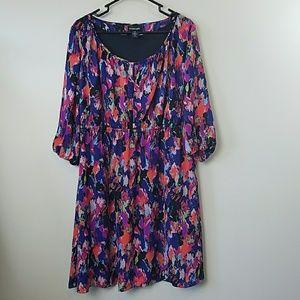 Lane Bryant Abstract Print Dress